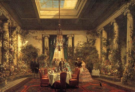 Salle à manger de la Princesse Mathilde